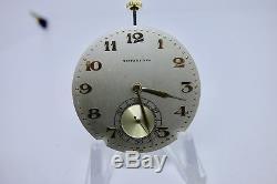 SERVICED TIFFANY & Co Pocket Watch Movement IWC International Watch Co 17J