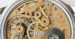 Skeleton Wristwatch with High-Grade Movement IWC Stauffer Masonic Freemasonry