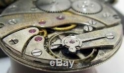 Slim Omega 17 jewels 8 adj. Pocket watch movement for part OF 35ML