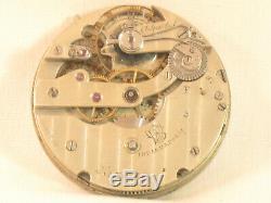 Stunning Large Chronometer Patek Philippe Monogram Antique Pocket Watch Movement