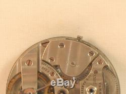 Stunning Large Patek Philippe Antique Pocket Watch Movement Running Early Piece