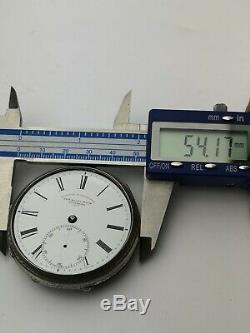 Stunning, Rare Railway Timekeeper Silver Pocket Watch, Liverpool Movement Z15