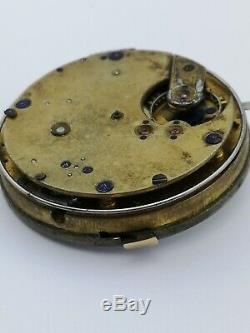 Superb Rare & High Quality Minute Repeater Pocket Watch Movement (AB34)
