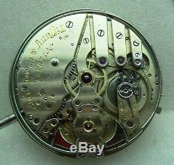 Superb Tiffany / Patek Philippe 5 Minute Repeater Pocket Watch Movement / Video