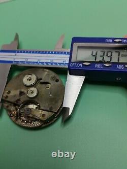 Swiss Detent Chronometer Pocket Watch Movement for Repair (Eardley Norton) P110