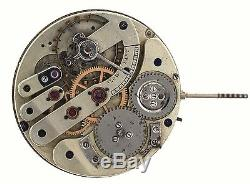 Swiss Lever Very High Grade Pocket Watch Movement Spares Repairs