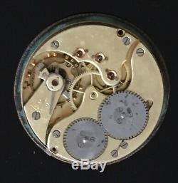 Swiss Made IWC, International Watch Co. Pocket watch movement / montre gousset