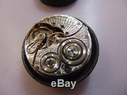TYPE III 60 HOUR! 16s 21j 60 Hour Illinois Bunn Special Movement, Dial, Hands
