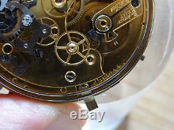 Taschenuhrwerk grande complication Pocketwatch movement Edouard Glauser