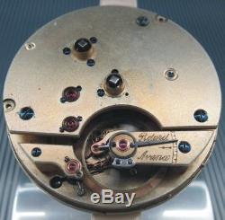 Thermometre Centigrade Detent Chronometer Helical Hair Spring Movement. Rare