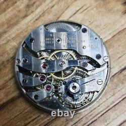 Tiffany & Co Longines 18.89 Working Vintage Pocket Watch movement VGC (E99)