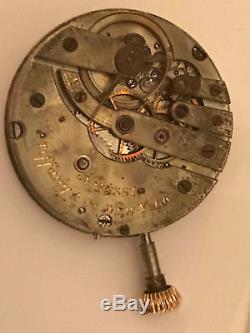 Tiffany & Co Patek Philippe pocket watch movement