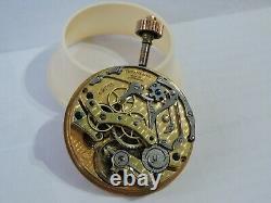Tiffany Movement Chronograph Swiss Pocket Watch