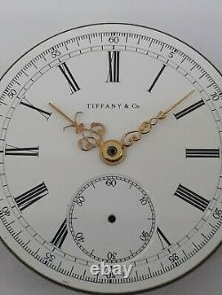 Tiffany Pocket Watch Repetition Quarter Movement Only For Parts