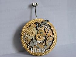 Tiffany Quarter Repeater Chronograph Swiss Pocket Watch Movement