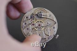 Ultra Thin C. H. Meylan 38.8mm pocket watch movement