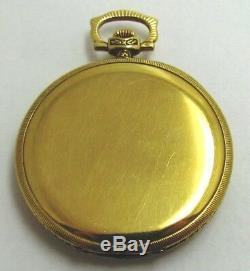Ulysse Nardin Locle Suisse Gold Pocket Watch