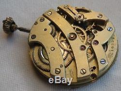 Ulysse Nardin XFine Pocket Watch movement & dial 43 mm. In diameter balance Ok