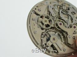 VALJOUX 24 Pocket Watch Movement Rattrapante Chronograph Good Balance (SO122)