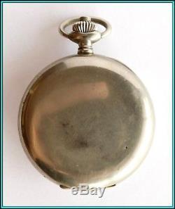 VINTAGE Alliance Horlogerie CHRONOGRAPH, Valjoux Movement 1900/1910 WORKING