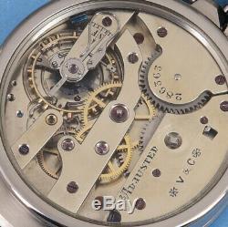 Vacheron & Constantin 1a Chronometer 1905 Pocket Movement Vintage