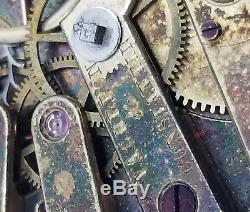 Vacheron Constantin Pocket Watch Movement Lever key wind set ticking F2401