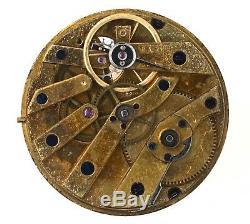 Vacheron & Constantin Small Swiss Cylinder Pocket Watch Movement Spares Vv30