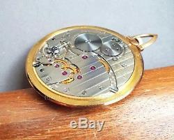 Vacheron Constantin ultra thin 1.38 MM movement pocket watch LeCoultre cal 145