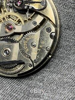 Vacheron Et Constatine Pocket Watch Movement 36.5mm Signed Superior 7162