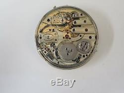 Vacheron and Constantin Minute Repeater Pocket Watch Movement