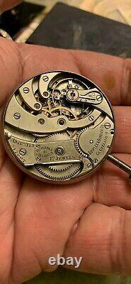 Vacheron constantin pocket watch movement, Working