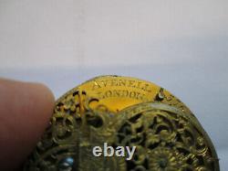 Verge Fusee Pocket Watch Movement, Circa 1740, Good Balance Wheel, It Runs