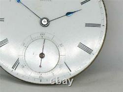 Very Rare E. Howard Series I First Run Mershon Movement & Dial Pocket Watch