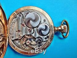 Very rare D. Gruen & Sons Glashutte precision-movement pocket watch running