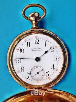 Very rare D. Gruen & Sons Glashutte precision pocket watch movement running