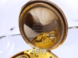 Vintage 1899 Waltham 16s Model 1888 pocket watch. GF stunning case gilt movement