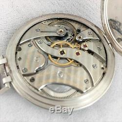 Vintage 1920's Tiffany & Co. Solid Platinum Pocket Watch IWC Movement Rare