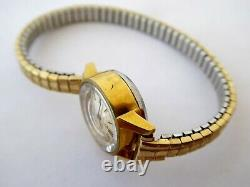 Vintage 1966 Gold Plated Ladies Omega Ladymatic Wrist Watch 661 Movement