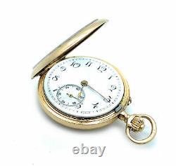 Vintage 19th Century Solid 18K Gold Pocket Watch, Avance Retard Movement