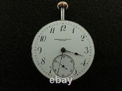 Vintage 38.7mm Agassiz Private Label Theodore B. Starr Pocket Watch Movement