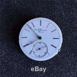 Vintage 38mm C & B Bornad Gonova Hunting Case Pocket Watch Movement