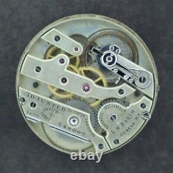 Vintage 43.3mm Vacheron & Constantin Private Label 17Jewel Pocket Watch Movement