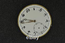 Vintage 44.5mm I. W. C Hunting Case Pocket Watch Movement Running