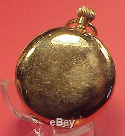 Vintage 50MM REPEATER CASE GOLDFILLED HUNTING High Grade 45MM MVT Pocket Watch