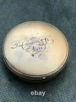Vintage Antique Repeater Prior Pocket Watch Movement Working Parts Repair