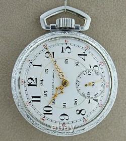 Vintage Brandt-Omega Louis Brant & Frere Movement Pocket Watch