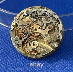 Vintage HEUER Chronograph movement & dial (1C/5882)