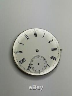 Vintage IWC International Watch Co Pocket Watch Movement #72122