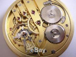 Vintage Iwc Cal 73 Pocket Watch Movement+dial Circa 1950