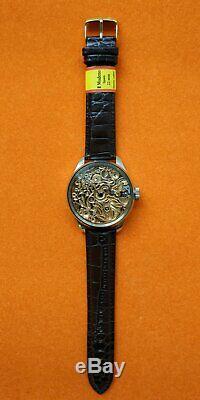 Vintage Men's Skeleton High Quality Pocket Watch Movement